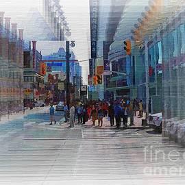 Robert Burns - Toronto Dundas Square