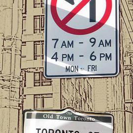 Nina Silver - Toronto Street Sign