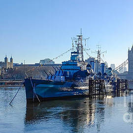 Mark Monckton - Tower Bridge HMS Belfast and The Tower Of London