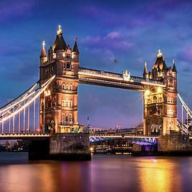 Leigh Cousins - Tower Bridge London At Night