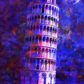 Jack Zulli - Tower Of Pisa By Moonlight