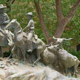 JG Thompson - San Antonio Texas Trail Drive Sculpture
