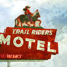 Ann Powell - Trail Riders Motel Neon Sign