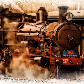 Kevin Chippindall - Train art 3237