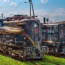 Mike Savad - Train - Engine - 4919 - Pennsylvania Railroad electric locomotive  4919