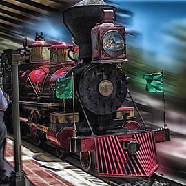 Thomas Woolworth - Train Ride Magic Kingdom