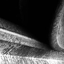 James Aiken - Train Wheel Abstract