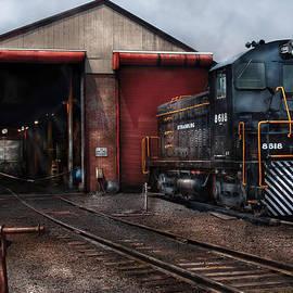 Mike Savad - Train - Yard - Strasburg Repair Center