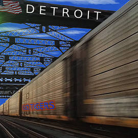 Michael Rucker - Trains of Detroit