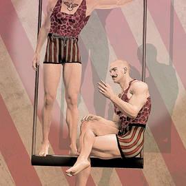 Joaquin Abella - Trapezist brothers By Quim Abella
