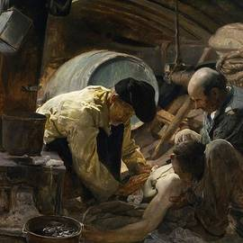 Joaquin Sorolla y Bastida - Treating the Wounded