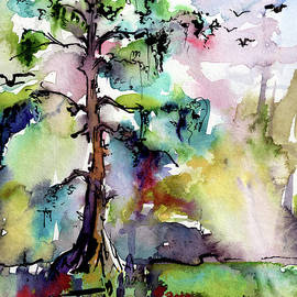 Ginette Callaway - Tree 1 Swamp Cypress Spanish Moss