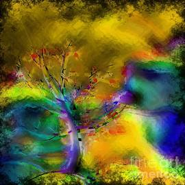 Liane Wright - Tree Abstract - Bold Is Beautiful