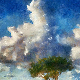 Bill Piacesi - Tree and Clouds