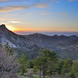 Guido Montanes Castillo - Trevenque mountain at sunset  2079 m