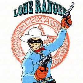 Mista Perez Cartoon Art - Tribute to the Lone Ranger