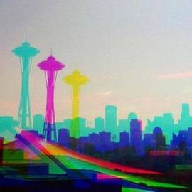 Eddie G - Tricolor Seattle Space Needle