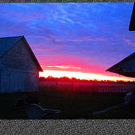 Tina M Wenger - Triple Barn Sunrise