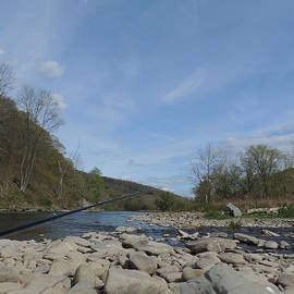 Anastasia Konn - Trout Fishing Delaware River