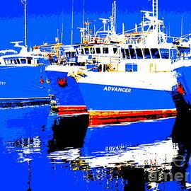 Roberto Gagliardi - True Blue Fishing Boats in Fremantle