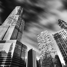 Sebastian Musial - Trump Tower in Black and White