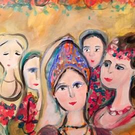 Judith Desrosiers - Tudor feast of flowers
