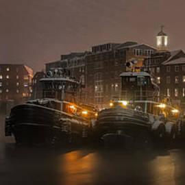 Scott Thorp - Tugs in the Snow