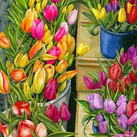Karen Wright - Tulip Bouquets