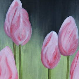 Christiane Schulze Art And Photography - Tulip Dream - Oil Painting