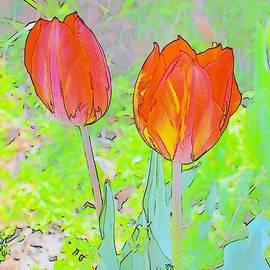 Kim Bemis - Tulips in Pastels 2