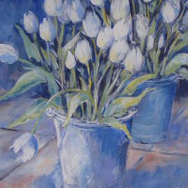 Cathy MONNIER - Tulips And Buckets