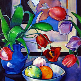 Transcend Designs - Tulips and Fruit
