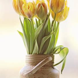 Rolf Adlercreutz - Tulips in a vase