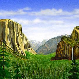 Douglas Castleman - Tunnel View Yosemite
