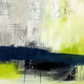 Linda Woods - Turning Point - contemporary abstract painting