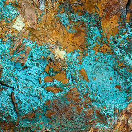 Chris Scroggins - Turquoise Abstract