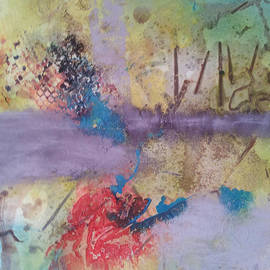 Becky Chappell - Turquoise and Violet