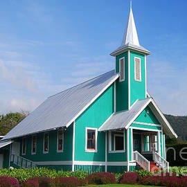Catherine Sherman - Turquoise Church on the Big Island