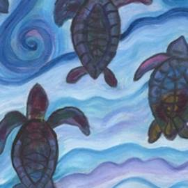 Bev Veals - turtle journey