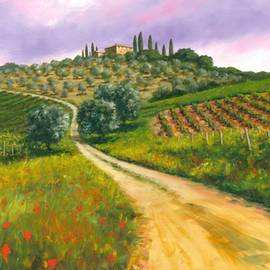 Michael Swanson - Tuscan road