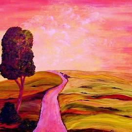 Eloise Schneider - Tuscan Skies ... An Impressionist View