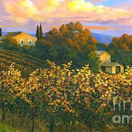 Michael Swanson - Tuscan Sunset 36 x 60