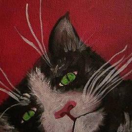 Cherie Sexsmith - Tuxedo Cat