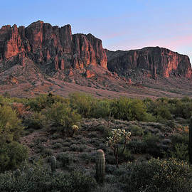 Dan Myers - Twighlight At The Superstition Mountains