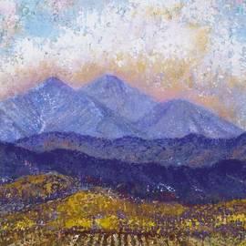 Margaret Bobb - Twin Peaks above the Fruited Plain
