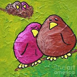 LimbBirds Whimsical Birds - Twins