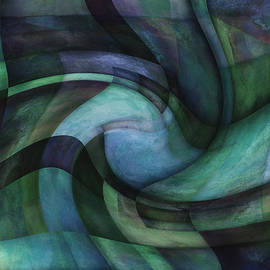 Ann Powell - Twirl - abstract art