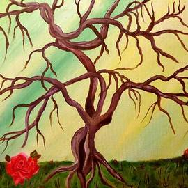 Janis  Tafoya - Twisted Tree and Roses