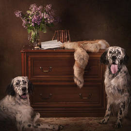 Tanya Kozlovsky - Two English setters...