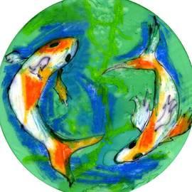 Genevieve Esson - Two Koi Fish
